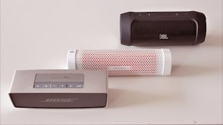 Bose Soundlink Mini - Denon Envaya Mini - JBL Charge 2 (binaural sound comparison)