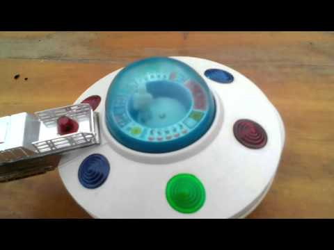 Battery Operated Toy Space Ship