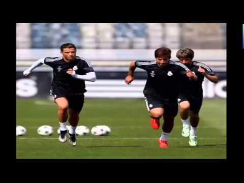 Latest Photos Real Madrid's preparations for Derby