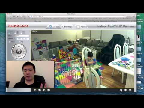 Foscam FI9821P HD Wireless IP Camera Demo & Review