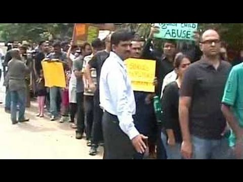 'Children are not toys': In Bangalore, protests over alleged rape at school