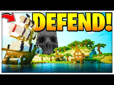 NEW OP FANTASY PIRATE ISLAND MEDIEVAL CASTLE (NEW GAMEMODE) - Minecraft Modded Minigame