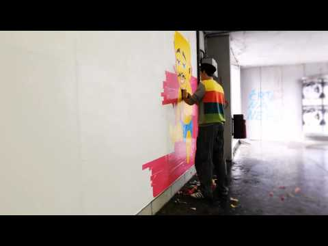 Thumbnail of video Street Art: Tape Art - Fejzo & Luka Ursic