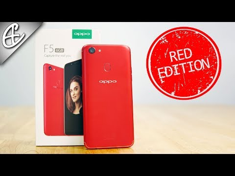 """OPPO F5 Red Edition (6GB RAM 