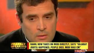 Frankly Speaking with Rahul Gandhi