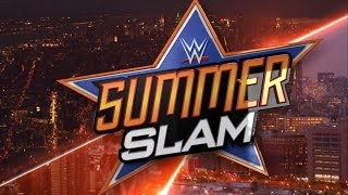 WWE 2K17 Universe Mode Summerslam Match Card Preview