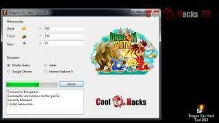 Dragon City Hack Tool (2013)