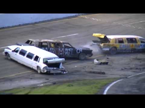 Holland Speedway :: Crash-A-Rama :: Limo Demolition Derby  :: 6.8.13