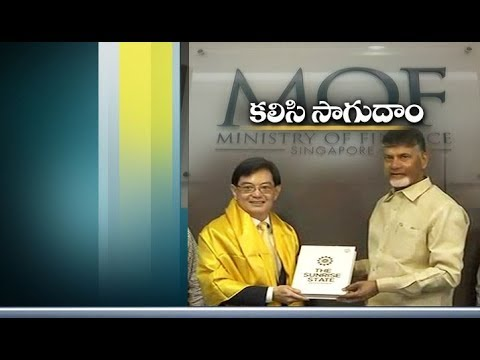 Partnership of Singapore and AP | Will Get Best Results Soon | CM Chandrababu