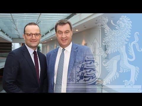 Kabinettssitzung zu Gesundheit und Pflege - Bayern