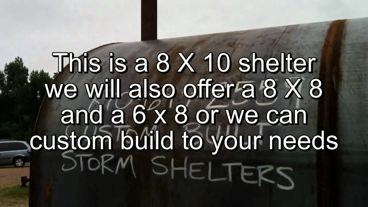 World S Strongest Steel Storm Shelter And Tornado Safe