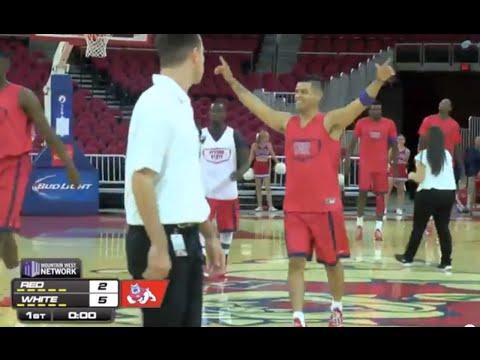 Fresno State's Cezar Guerrero Makes 5 Straight Half Court Shots