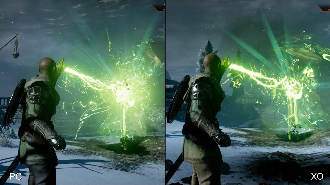 Dragon age inquisition xbox one vs pc comparison youtube - Console dragon age inquisition ...