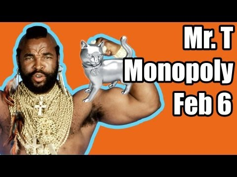 Twitter Welcomes Mr. T & Kitten Monopoly FEB 6 | DAILY REHASH | Ora TV