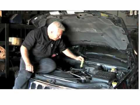 how to get water out of engine oil