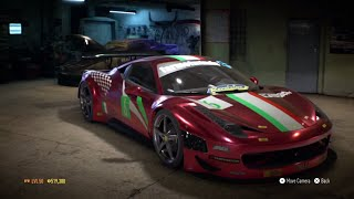 "Need for Speed 2015 - ""Ferrari 458 GT3"" - 970 HP Build !!! (Max Grip Settings) (Gameplay)"
