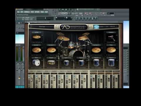 Addictive Drums en flstudio 10