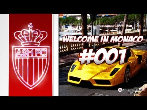 AS MONACO - Fussball Manager 13 Lets Play #001 - Welcome in Monaco | ᴴᴰ