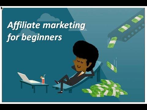 Affiliate marketing for beginners - starting affiliate marketing from scratch no money to start