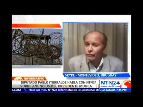 Diputado opositor uruguayo habla en NTN24 sobre traslado de presos de Guantánamo a su país