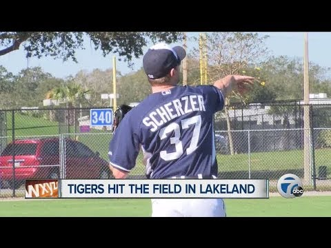 Tigers open camp with Max Scherzer's future uncertain