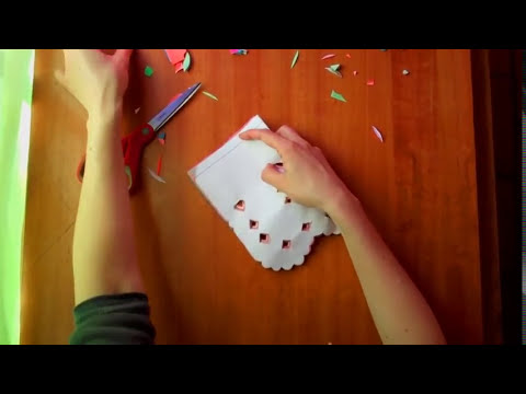 How to make Papel Picado for Day of the Dead