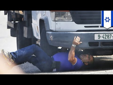 Israel Conflict: West Bank settler run over by Palestinian truck driver - TomoNews