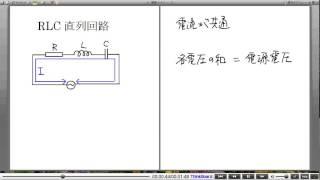 高校物理解説講義:「RLC直列回路」講義1