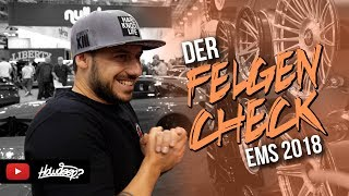 HOW DEEP? // ESSEN MOTOR SHOW 2018 // DER FELGENCHECK