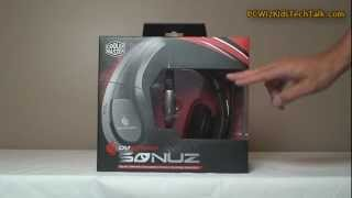 Cooler Master CM Storm Sonuz Circumaural Gaming Headset Review and Giveaway