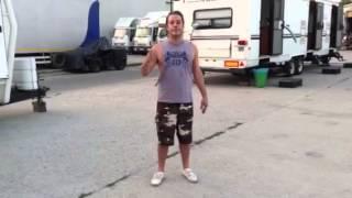 Michael Raymond-James ALS Icebucket Challenge
