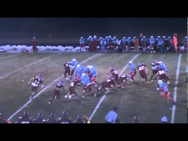 10-28-11 - Mitch Tormohlen picks up 17 yards on the bootleg