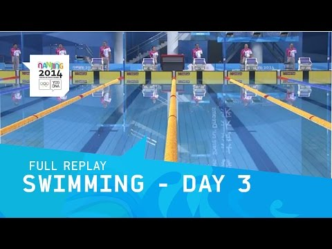 Swimming - Finals Day 3 | Full Replay |  Nanjing 2014 Youth Olympic Games video