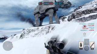 STAR WARS BATTLEFRONT BETA , The Empire  Gameplay  , Darth Vader Gameplay