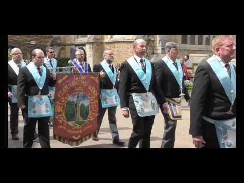 Tercentenary Masonic Parade in Peterborough