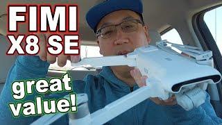 Xiaomi FIMI X8 SE 4K GPS Drone Review 🚁