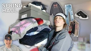 I Bought a ton of New Clothes ! (Ft. Magnus Ronning, Sangiev)