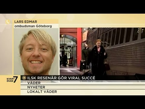Därför blev han galen när han missade tåget - Nyhetsmorgon (TV4)