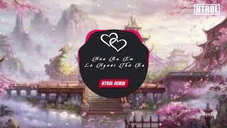 Hóa Ra Em Là Người Thứ Ba ( Htrol Remix ) Lời Việt | Nhạc gây nghiện