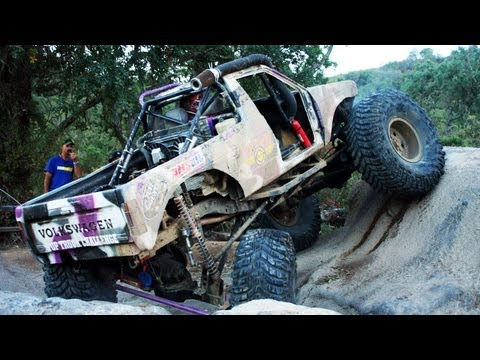 Obstacle Course, Hill Climb, and Coal Chute! - Top Truck Challenge 2013