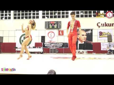 Kumsal Saygıner & Noyan B.Gultekin - B Klas Birincileri - Tdsf Adana 2.Etap Salsa Yarışması - 2016