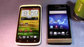 HTC One X vs Sony Xperia S Browser Test