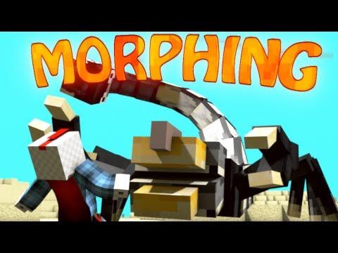 Become Bosses Mod: Minecraft Morph Mod Showcase! (TRANSFORMING MOD)