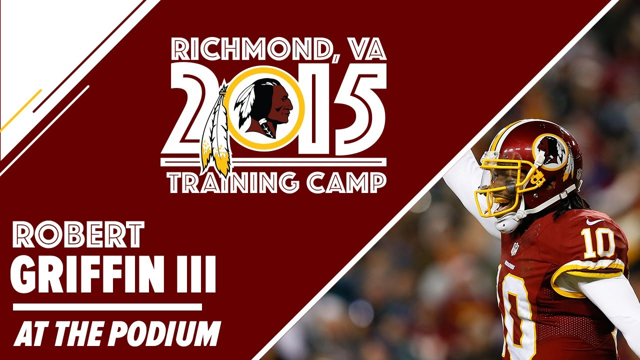 QB Robert Griffin III Training Camp Press Conference: 7/30/15