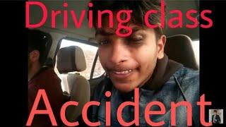 Accident || DESI DRIVING  CLASS || PUNJABI