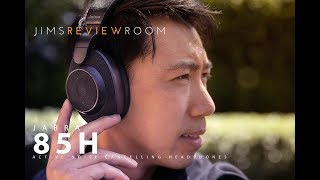 Jabra 85H Active Noise Cancelling Headphone - REVIEW - ft. Sony 1000xm3
