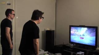 Thumb Probando Microsoft Kinect con cámara de visión nocturna