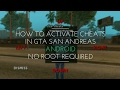 How To Activate Cheats In GTA SanAndreas Android Version  No Root Required 100% Guaranteed Working MP3