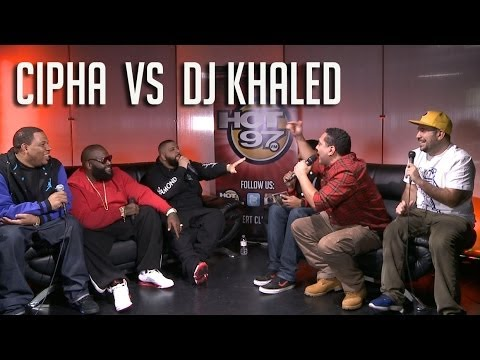 Cipha Sounds vs DJ Khaled !!!!! (feat. Rick Ross, Ebro, Rosenberg, and J1s)