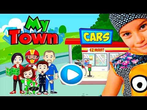 СМЕШНОЕ ВИДЕО ДЛЯ ДЕТЕЙ Новый игровой мультик ПРО МАШИНКИ детская игра My Town